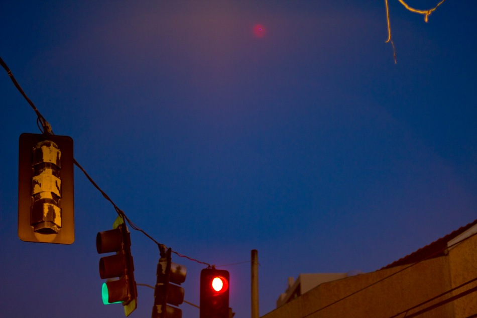 red light in san juan